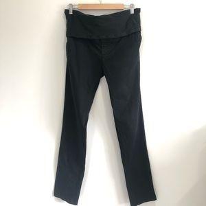 H&M Women's Black Mama Maternity Pants Sz 10